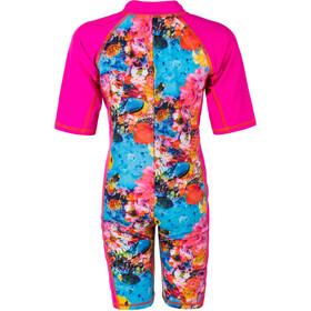 Color Kids Tayac AOP UPF Combinaison de protection Enfant, pink glo